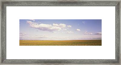 Field, Utah, Usa Framed Print by Panoramic Images