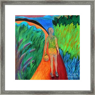 Fields Of Agave II Framed Print by Elizabeth Fontaine-Barr