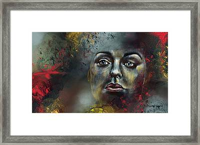 Fier Regard Framed Print by Francoise Dugourd-Caput