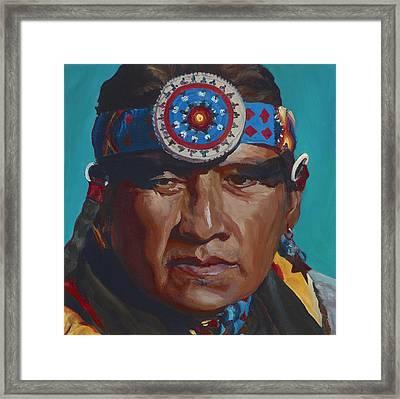Fierce Eagle Framed Print