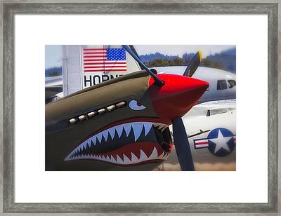 Fierce Tiger Framed Print by Garry Gay