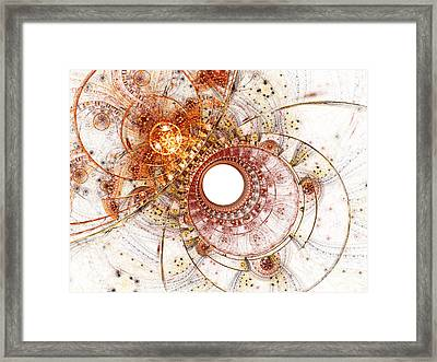 Fiery Temperament Framed Print by Eli Vokounova