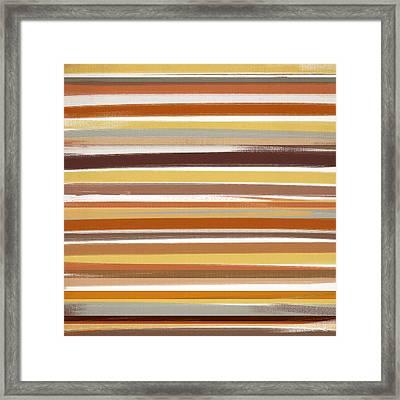 Fiery Woods Framed Print by Lourry Legarde