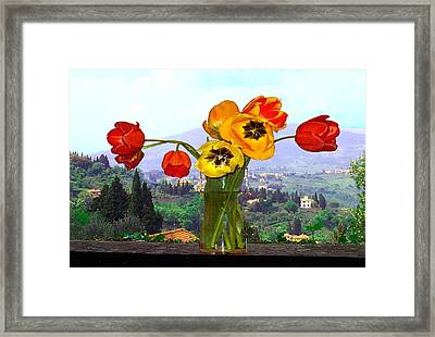 Fiesole Number One Framed Print
