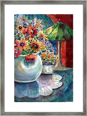 Fiesta Blooms Framed Print
