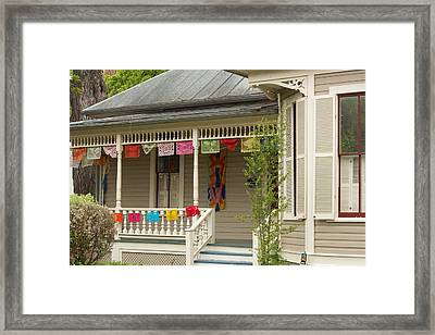 Fiesta Time San Antonio Framed Print by Scott Radke