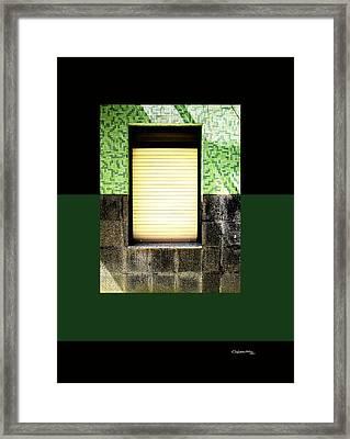 Fiestra 2 Framed Print