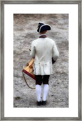 Fife And Drum Framed Print by Edward Fielding
