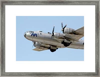 Fifi In Flight Framed Print