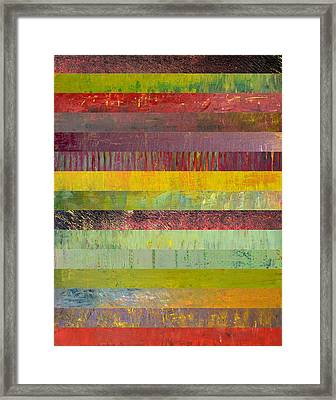 Fifteen Stripes No. 2 Framed Print