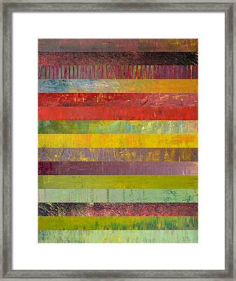 Fifteen Stripes No. 3 Framed Print