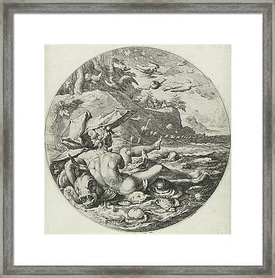 Fifth Day Of Creation Creation Of The Animals Framed Print