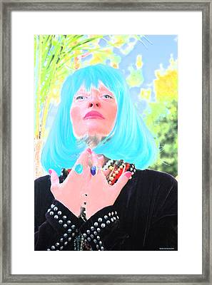 Fifth Dimension Is Here Framed Print