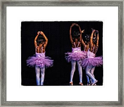Fifth Position Framed Print by Ayesha  Lakes