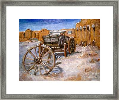 Fifth Wheel Framed Print