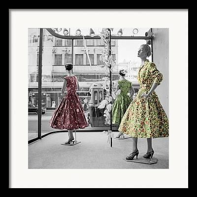 Womens Wear Framed Prints