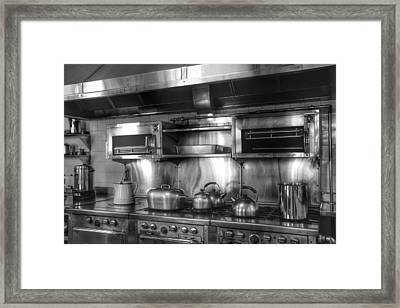 Fifties Kitchen Framed Print by Kathi Isserman