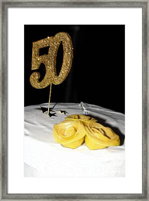 Fifty Framed Print by Cassandra Buckley