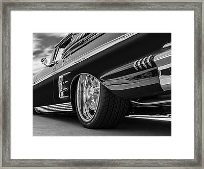 Fifty Eight Impala Framed Print