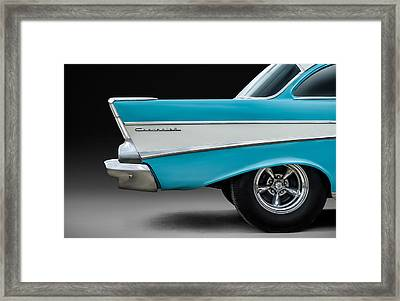 Fifty-seven Framed Print