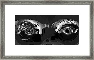 Fifty Shades Of Grey Framed Print by David Lee Thompson