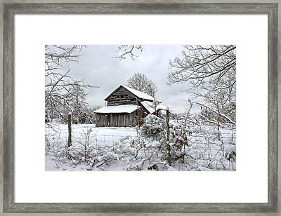 Fifty Shades Of Grey Framed Print by Benanne Stiens