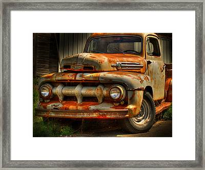 Fifty Two Ford Framed Print by Thomas Young