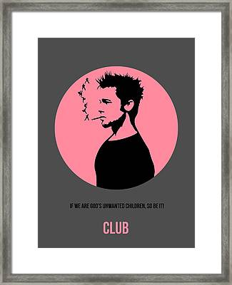 Fight Club Poster 1 Framed Print