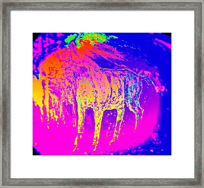When You Have To Fight Or Flight With Your Inner Demons   Framed Print by Hilde Widerberg