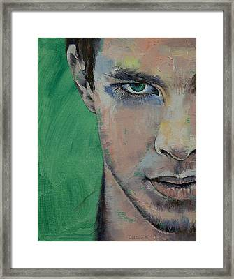 Fighter Framed Print by Michael Creese