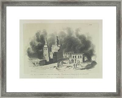 Fighting Around Smolensk Framed Print by British Library