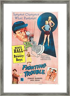 Fighting Trouble, Us Poster, Adele Framed Print