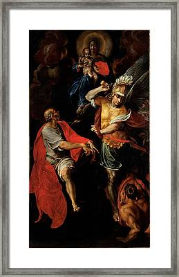 Figino Giovanni Ambrogio, Madonna Framed Print