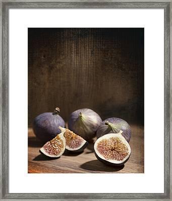 Figs Framed Print by Amanda Elwell