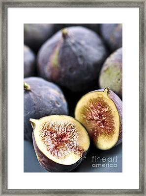 Figs Framed Print by Elena Elisseeva