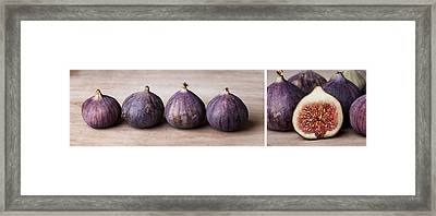 Figs Framed Print by Nailia Schwarz