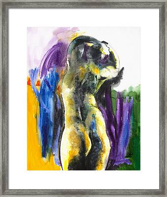 Figure Framed Print by Brenda Clews