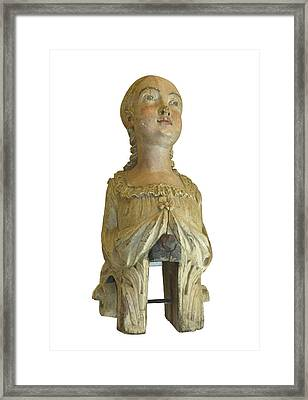 Figure Head Framed Print