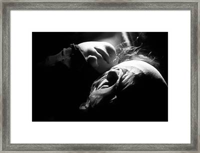 Figure #nobody Framed Print by Taylan Apukovska