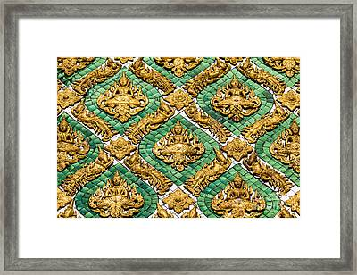 Figure Of Deva Framed Print by Tosporn Preede