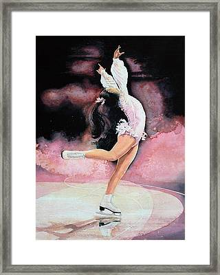 Figure Skater 20 Framed Print