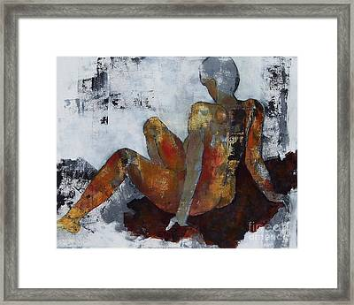 Figure Study 051 Framed Print by Donna Frost
