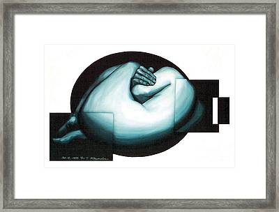 Figure Untitled No.6 Framed Print by Fei A