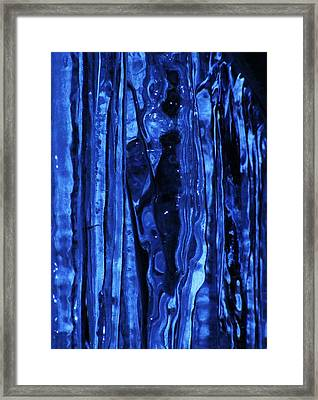 Figure Within Framed Print by James McAdams