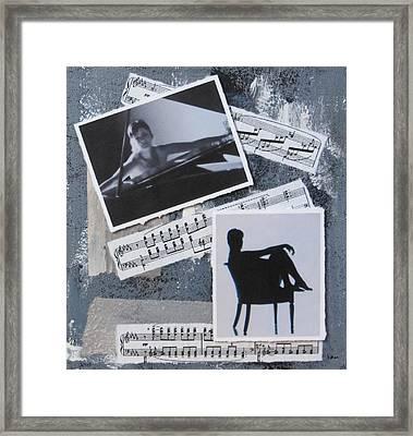 Figures Framed Print by Anita Burgermeister