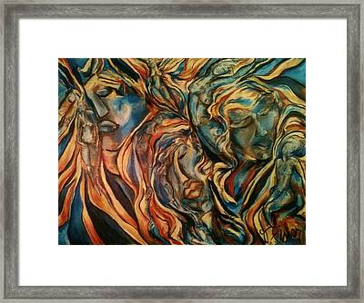 Figures Of  Beauty Framed Print