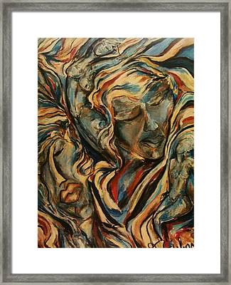 Figures2 Framed Print
