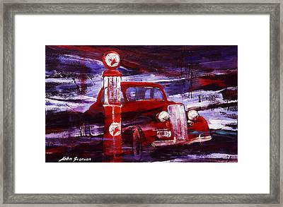 Fill Er Up 1935 Framed Print