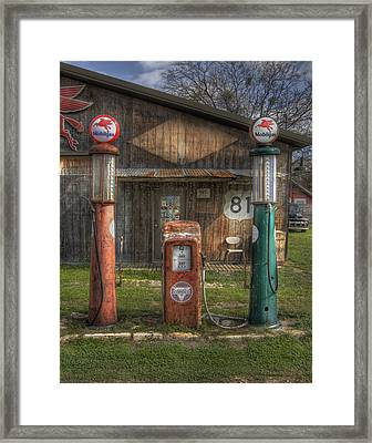 Fill 'er Up Framed Print by David and Carol Kelly
