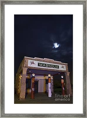 Fill 'er Up With Ethyl Framed Print by Keith Kapple